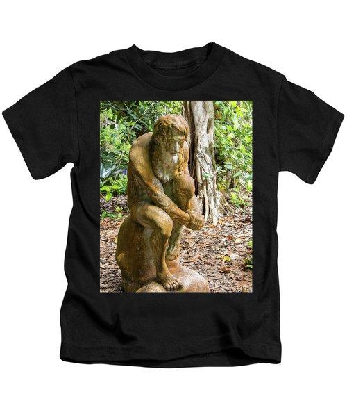 Garden Sculpture 3 Kids T-Shirt