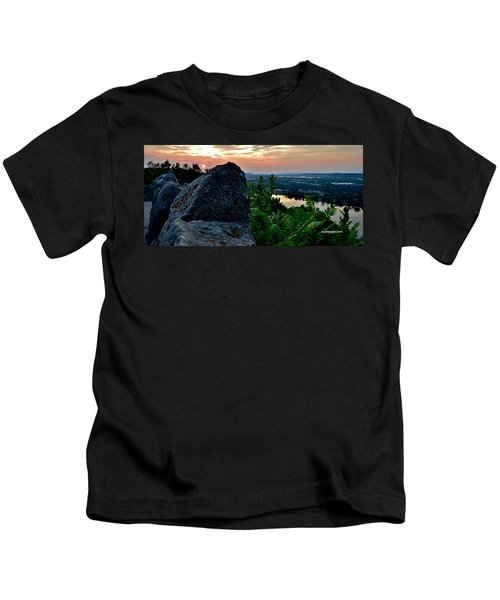 Garvin Heights Sunset Kids T-Shirt