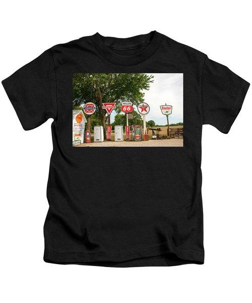 Gas Signage Kids T-Shirt