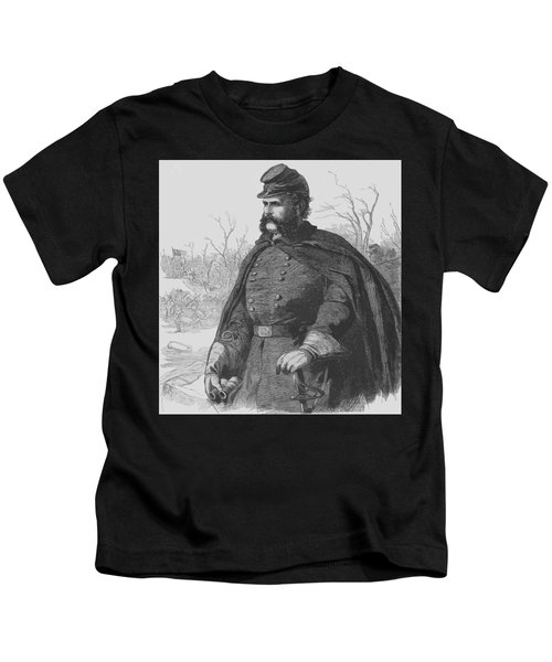 General Ambrose Burnside Kids T-Shirt