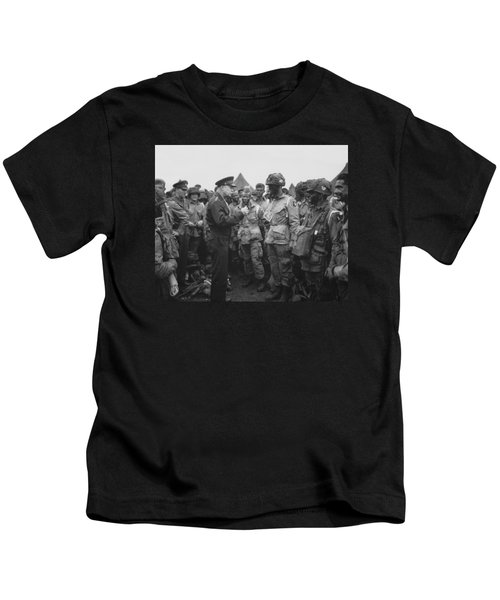 General Eisenhower On D-day  Kids T-Shirt