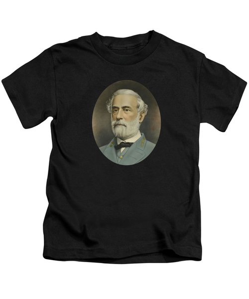 General Robert E. Lee Color Portrait  Kids T-Shirt