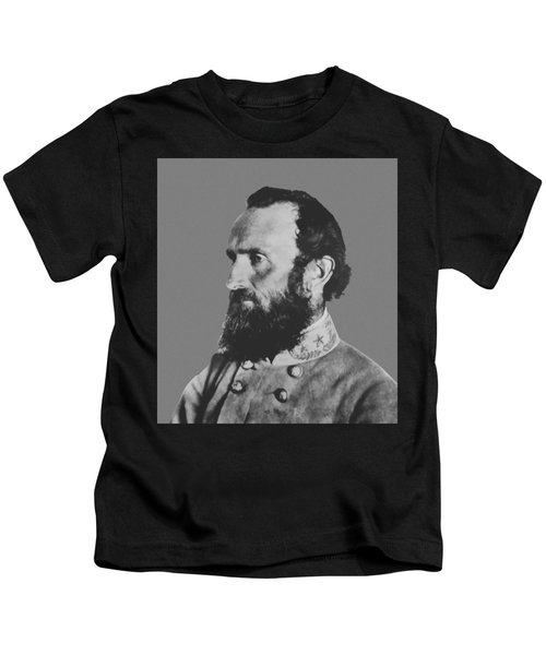 General Stonewall Jackson Profile Kids T-Shirt