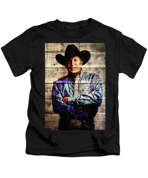 George Strait Kids T-Shirt