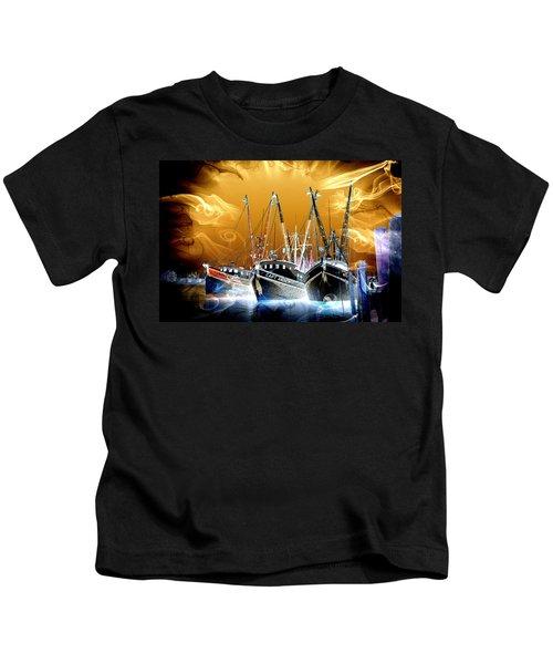 Georgetown Fantasy Shrimpers Kids T-Shirt