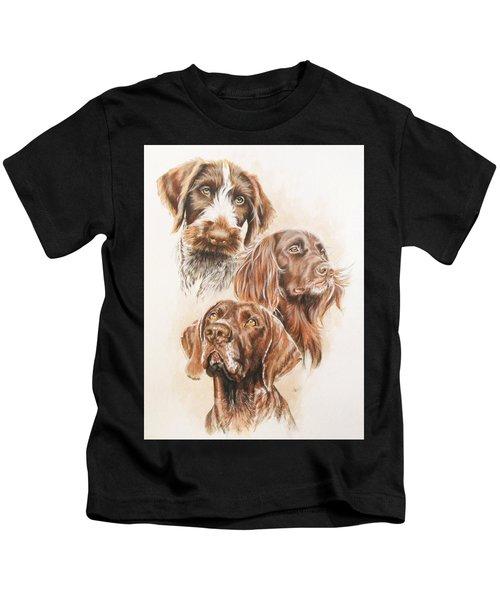 German Pointer Kids T-Shirt