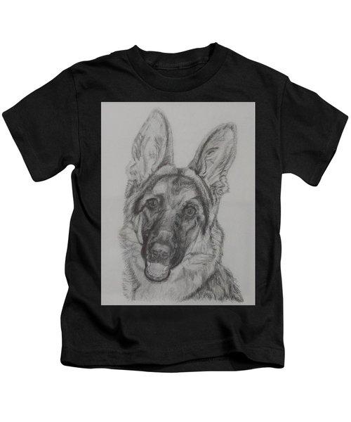 German Shepherd  Kids T-Shirt