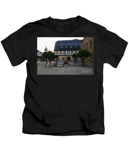 German Town Square Kids T-Shirt