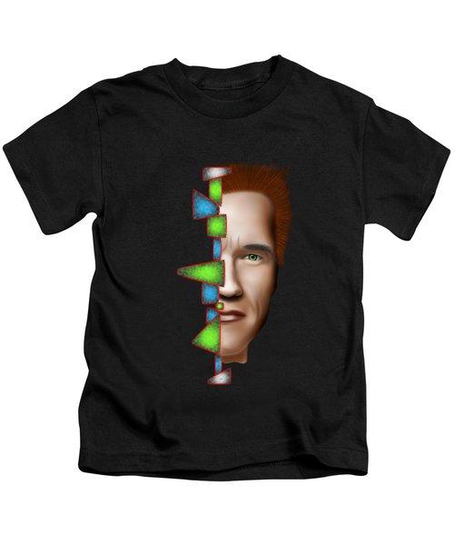 Gerschwanor V1 - Schwarzenegger Kids T-Shirt