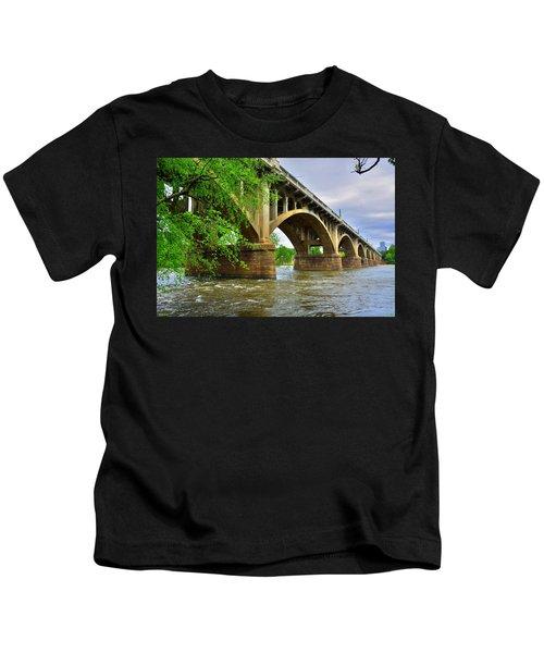 Gervais Street Bridge Kids T-Shirt