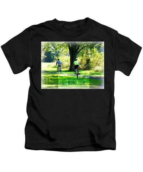 Get Moving Inspirational Kids T-Shirt