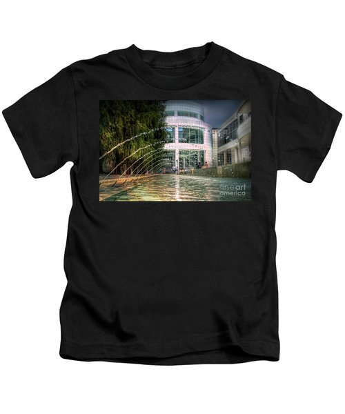 Getty Architecture Museum Los Angeles California  Kids T-Shirt