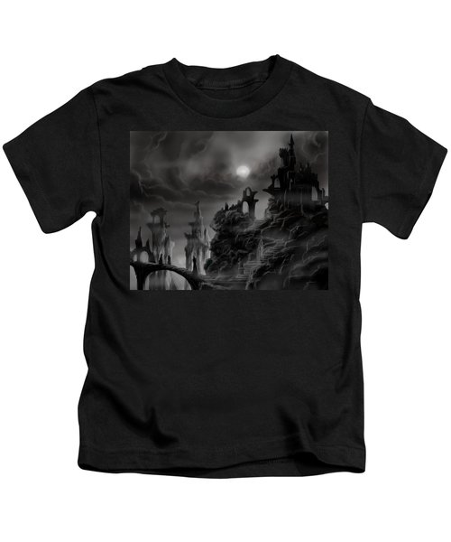 Ghost Castle Kids T-Shirt