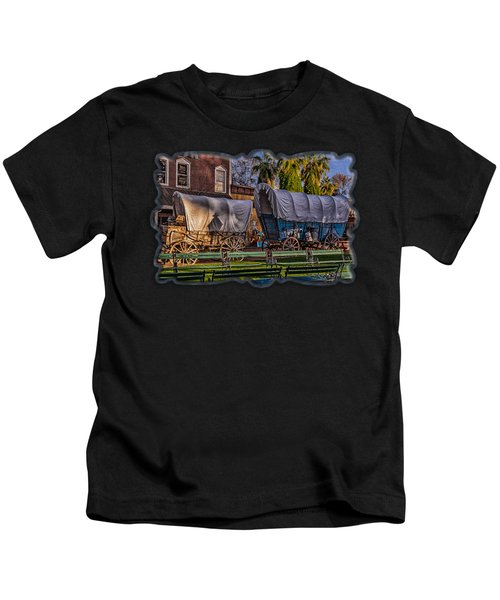 Ghost Of Old West No.2 Kids T-Shirt