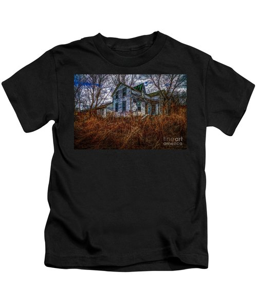 Ghosts Of The Past Kids T-Shirt