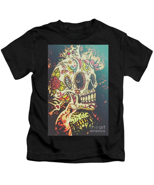 Ghoul Of Gothic Glam  Kids T-Shirt