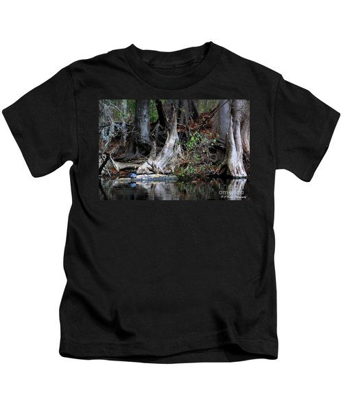 Giant Cypress Knees Kids T-Shirt