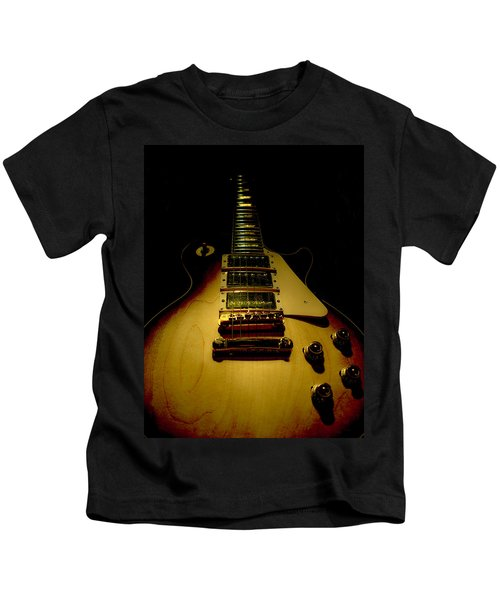 Guitar Triple Pickups Spotlight Series Kids T-Shirt