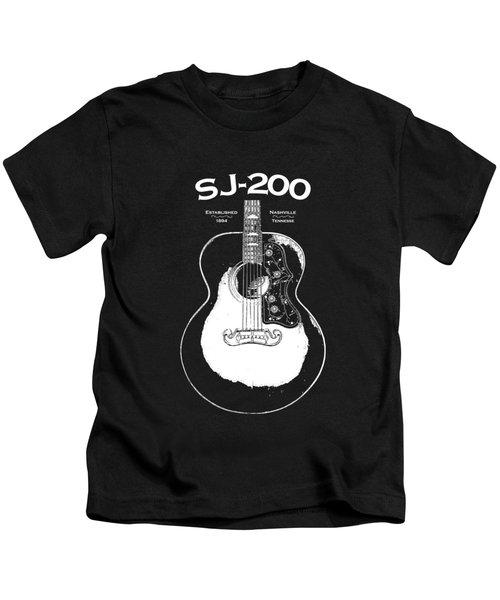 Gibson Sj-200 1948 Kids T-Shirt