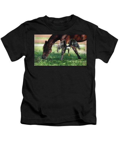 Giddy Up. Kids T-Shirt