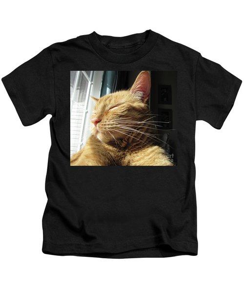 Ginger Tabby Kids T-Shirt