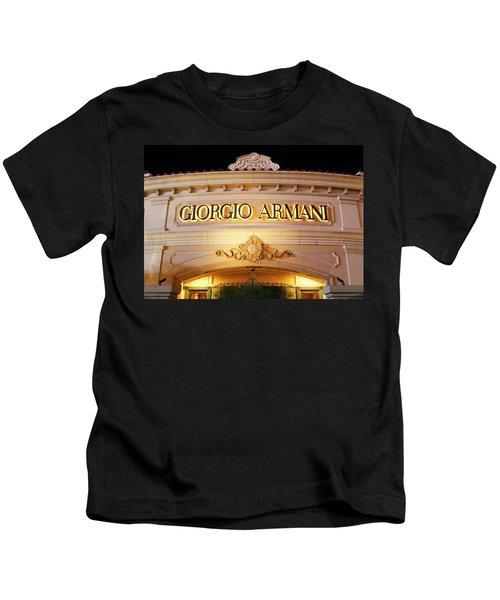 Giorgio Armani Storefront Kids T-Shirt