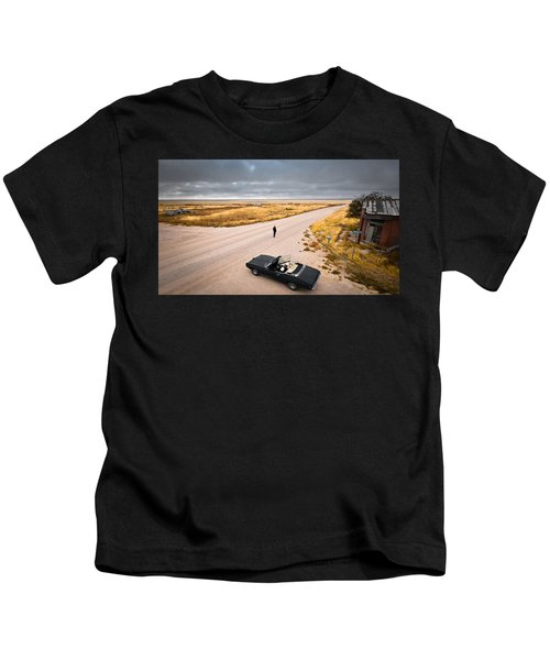 Girl Of The Golden West Kids T-Shirt