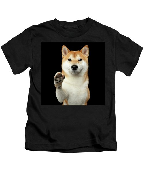 Give Me A Hand Man Kids T-Shirt
