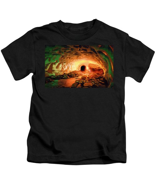 Glacier Caves Kids T-Shirt