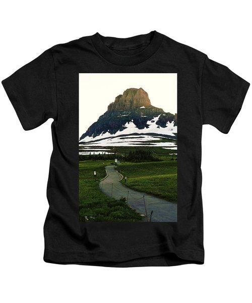 Glacier National Park 8 Kids T-Shirt