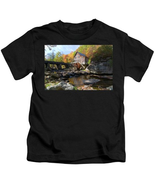 Glade Creek Grist Mill Kids T-Shirt