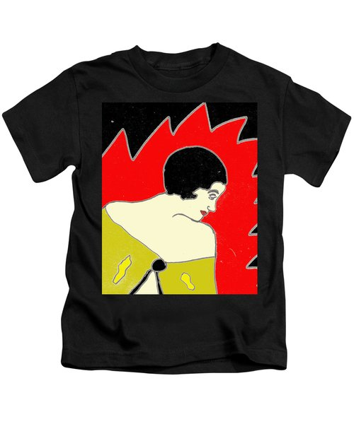Glancing Down Kids T-Shirt