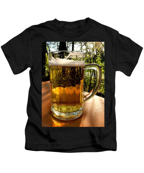 Glass Of Beer Kids T-Shirt