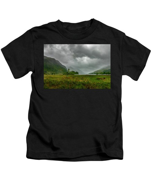 Glencoe, Scotland Kids T-Shirt