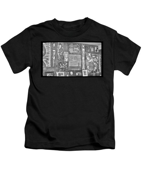 Glimpses Of Where Art Lives 4 Kids T-Shirt