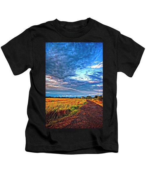 Goin' Home - Paint Kids T-Shirt