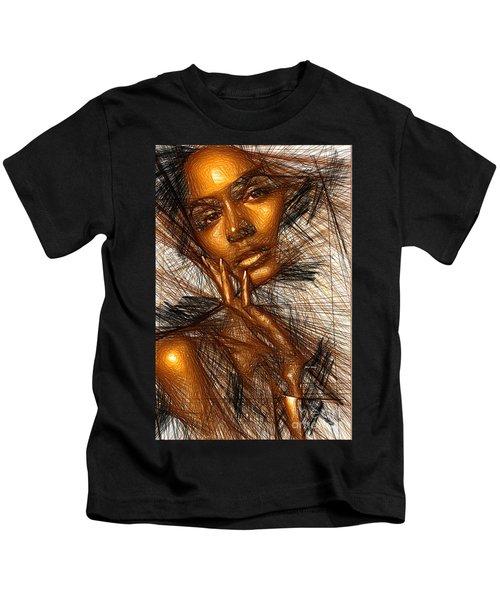 Gold Fingers Kids T-Shirt