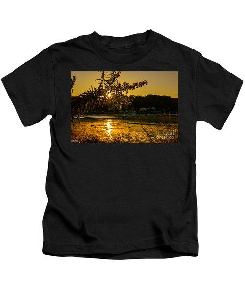Golden Centerport Kids T-Shirt