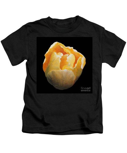 Golden Double Tulip Kids T-Shirt