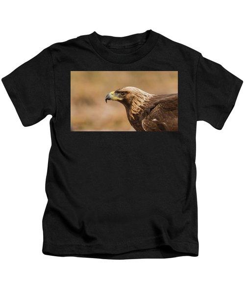Golden Eagle's Portrait Kids T-Shirt