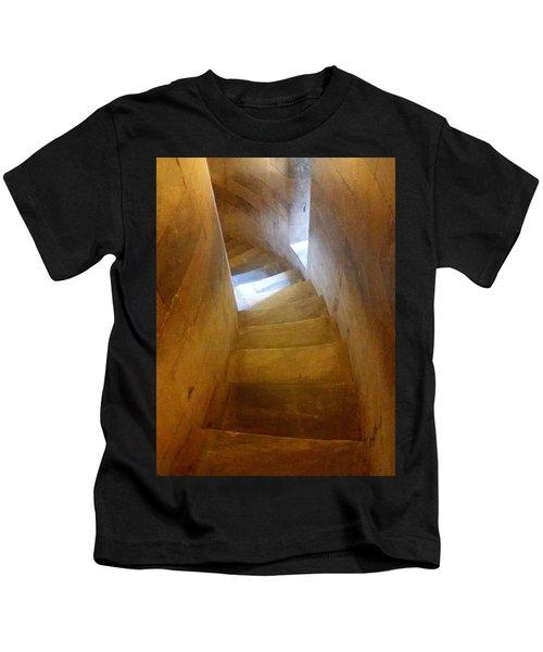 Golden Echo Of Blue Kids T-Shirt