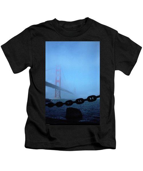 Golden Gate Bridge From Fort Point Kids T-Shirt