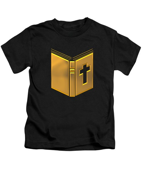 Golden Holy Bible Kids T-Shirt