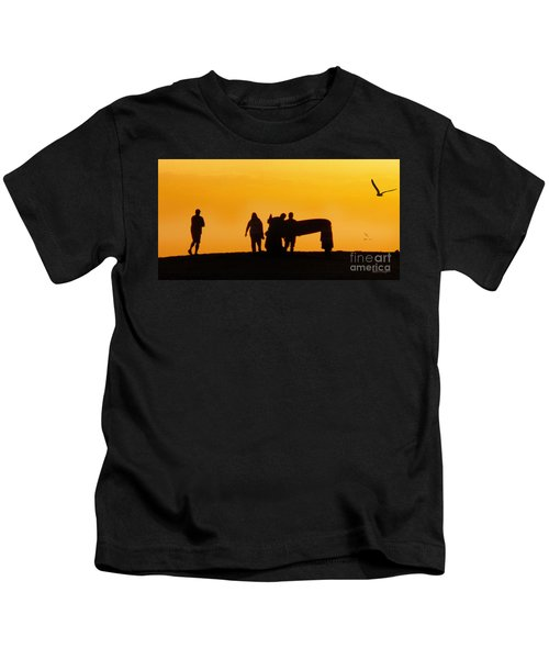 The Golden Hour Kids T-Shirt