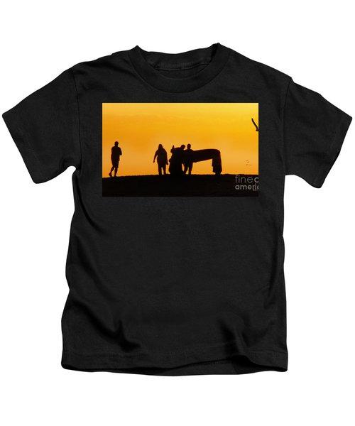 The Golden Hour Kids T-Shirt