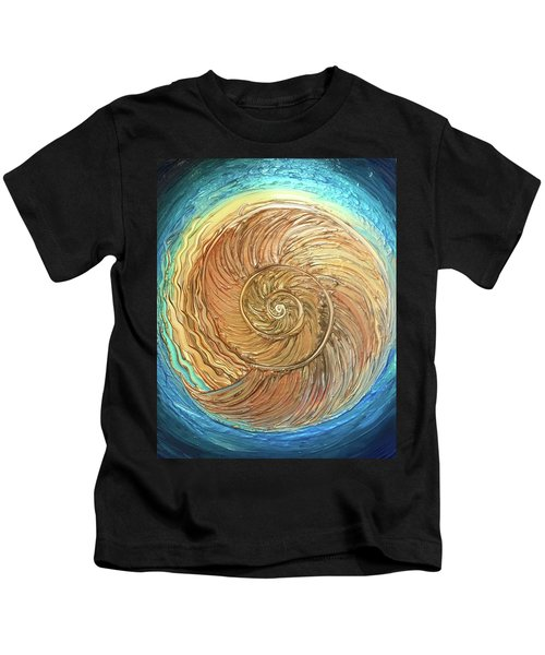 Golden Nautilus Kids T-Shirt