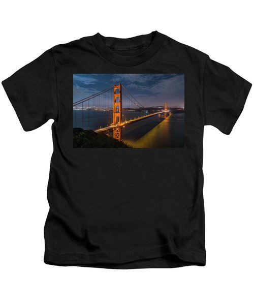 Golden Reflection Kids T-Shirt