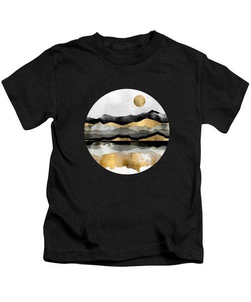Golden Spring Moon Kids T-Shirt