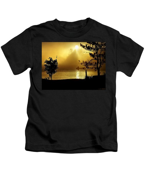 Golden Sunrise Kids T-Shirt