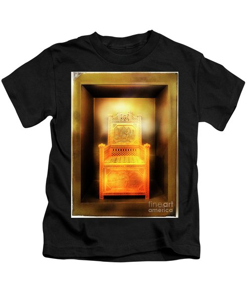 Golden Throne Kids T-Shirt